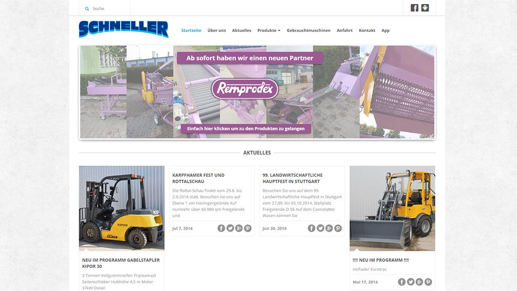 SCHNELLER – Webseiten-Redesign abgeschlossen